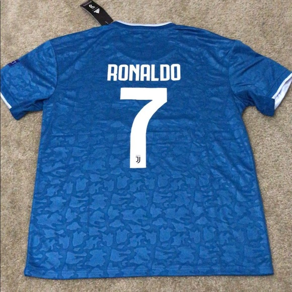 the latest a1738 f90d8 NEW Ronaldo Juventus Third 2020 jersey UCL version